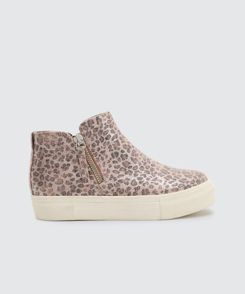 CAB SNEAKERS IN LEOPARD -   Dolce Vita