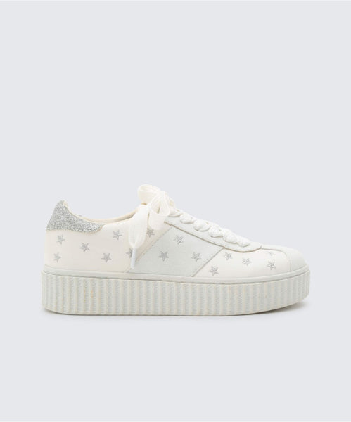 CADIN SNEAKERS IN WHITE -   Dolce Vita