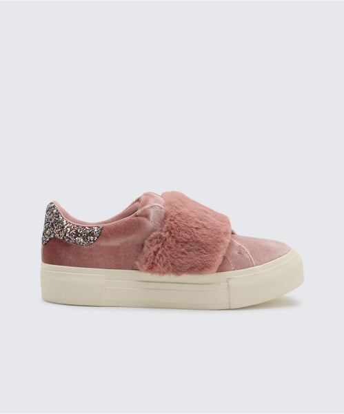 CAISI SNEAKERS IN MAUVE -   Dolce Vita