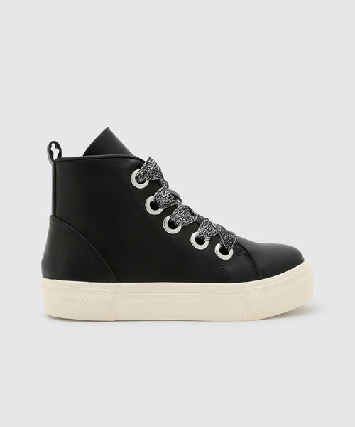 CAT SNEAKERS IN BLACK -   Dolce Vita
