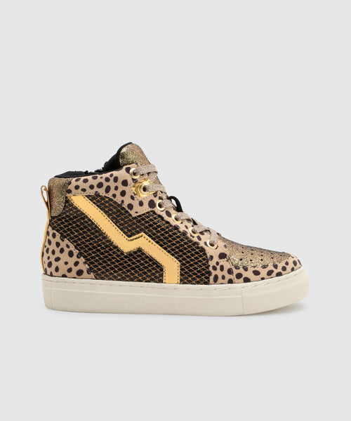 CHANI SNEAKERS IN LEOPARD -   Dolce Vita
