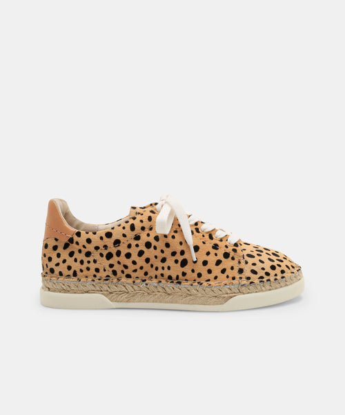 MADOX SNEAKERS IN LEOPARD -   Dolce Vita