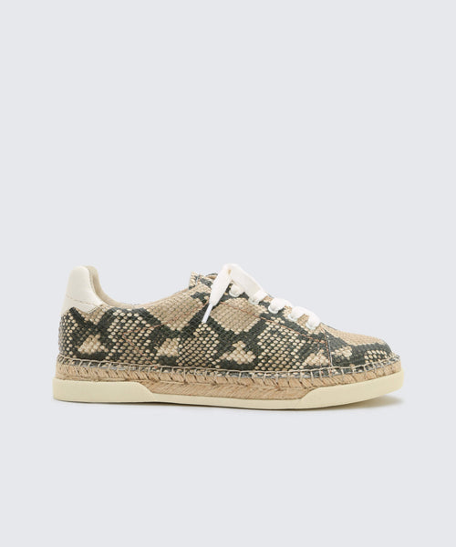 MADOX SNEAKERS SNAKE -   Dolce Vita
