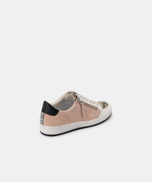 MIYA SNEAKERS IN ROSE MULTI SUEDE -   Dolce Vita