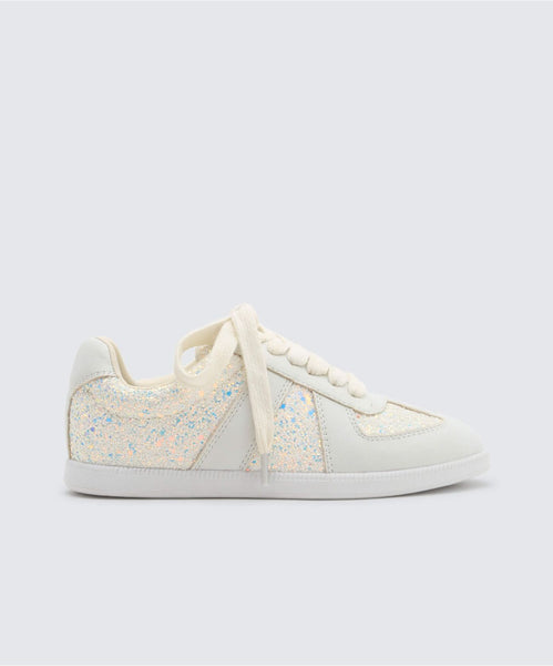 MOSIE SNEAKERS IN WHITE -   Dolce Vita