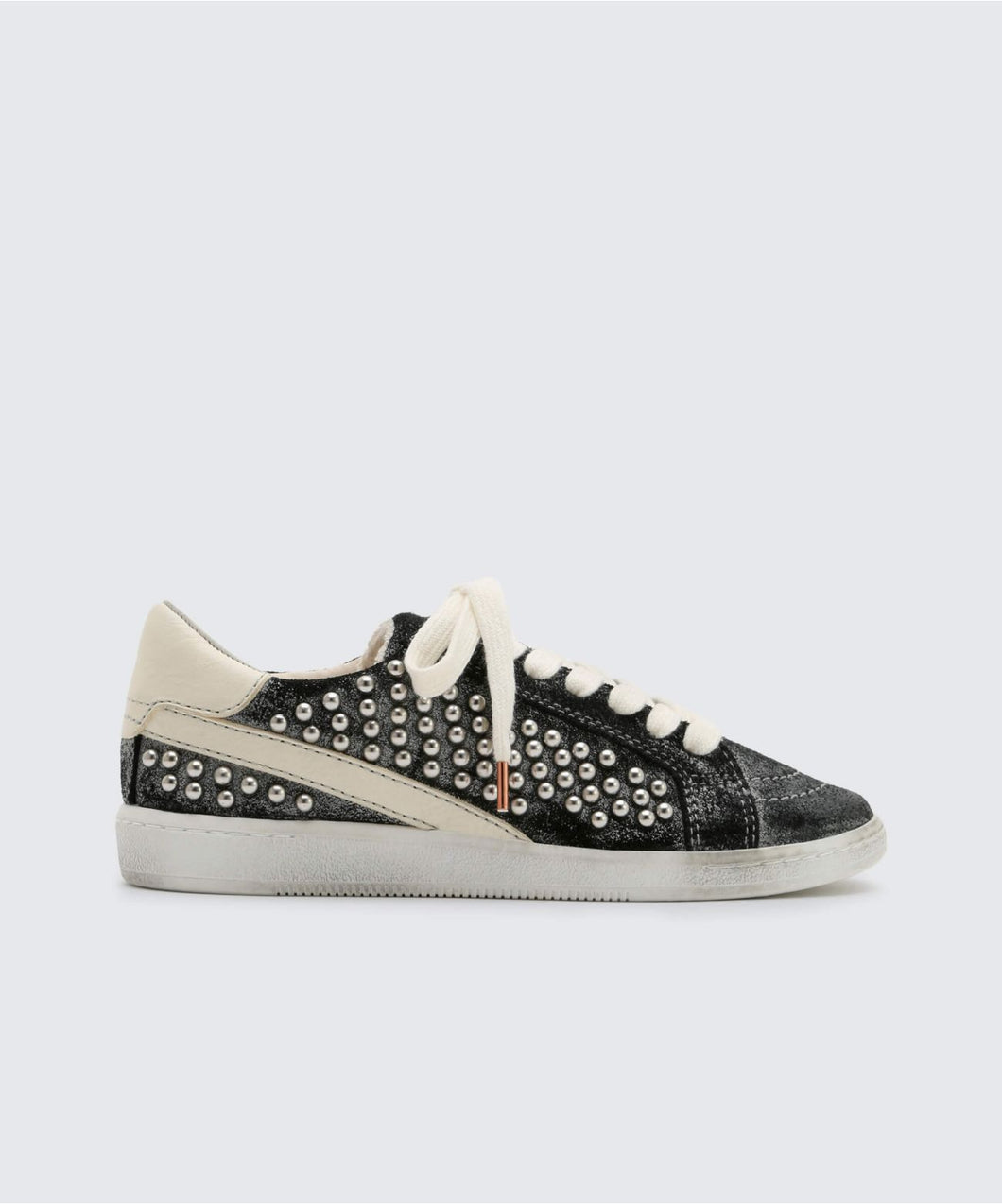 NINO STUDDED SNEAKERS BLACK -   Dolce Vita