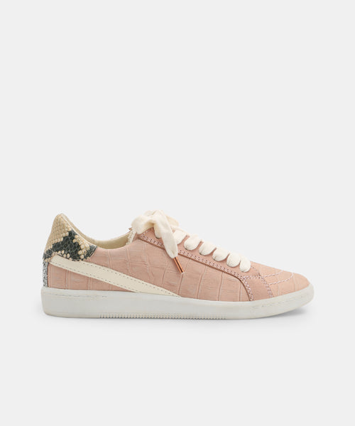 NINO SNEAKERS IN BLUSH CROCO -   Dolce Vita
