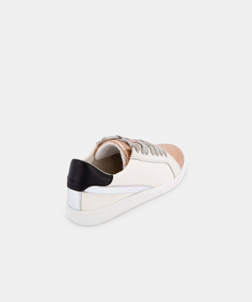 NINO SNEAKERS IN COPPER/WHITE -   Dolce Vita