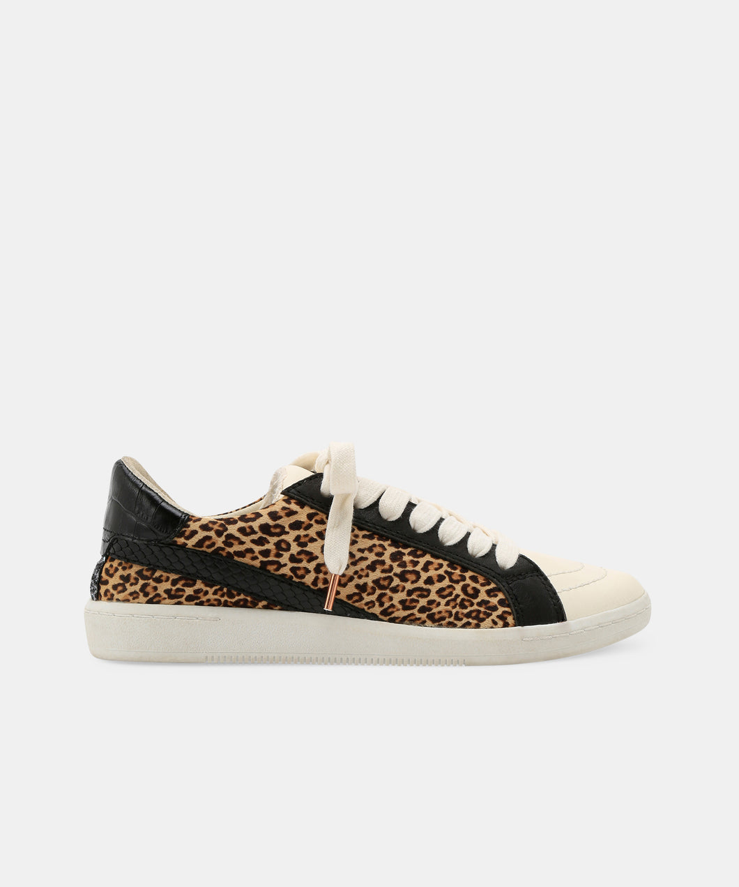 NINO SNEAKERS IN BLACK LEOPARD -   Dolce Vita