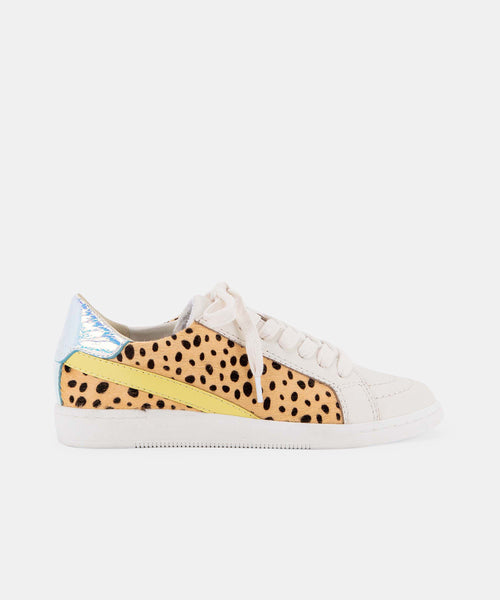 NINO SNEAKERS IN LEOPARD MULTI CALF HAIR -   Dolce Vita