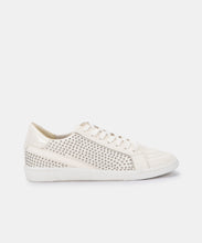 NINO STUDDED SNEAKERS IN WHITE STUDDED LEATHER -   Dolce Vita