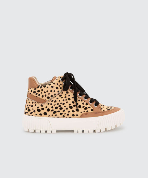 ROSE SNEAKERS IN LEOPARD -   Dolce Vita