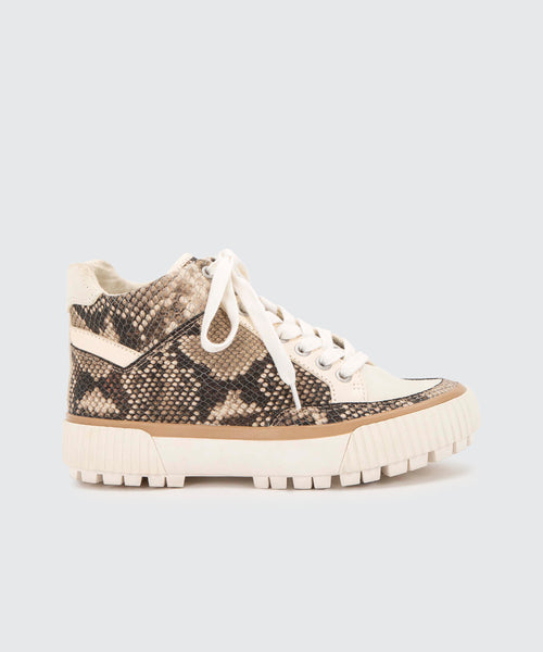 ROSE SNEAKERS IN SNAKE -   Dolce Vita