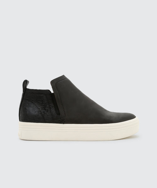 TATE SNEAKERS IN ONYX -   Dolce Vita