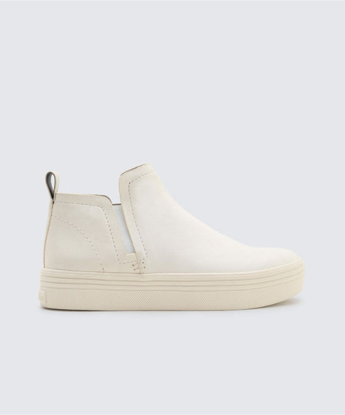 TATE SNEAKERS IN WHITE -   Dolce Vita