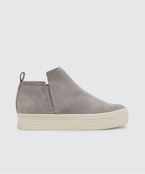 TATE SNEAKERS IN SMOKE -   Dolce Vita
