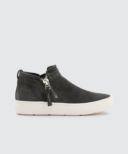 TOBEE SNEAKERS IN ANTHRACITE -   Dolce Vita