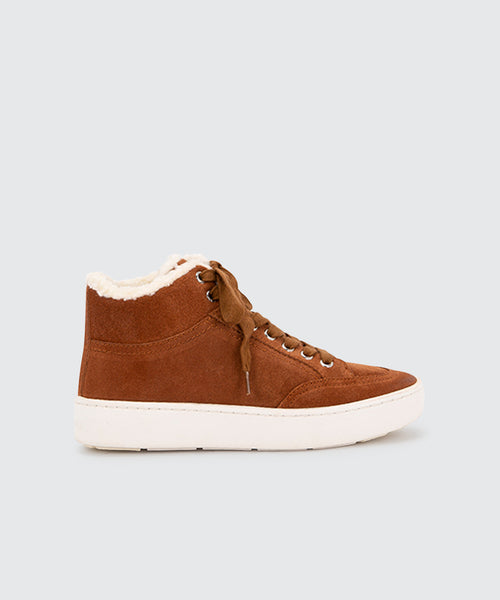 TRUDIE SNEAKERS IN BROWN -   Dolce Vita