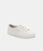 VALOR SNEAKERS IN WHITE EMBOSSED LEATHER -   Dolce Vita