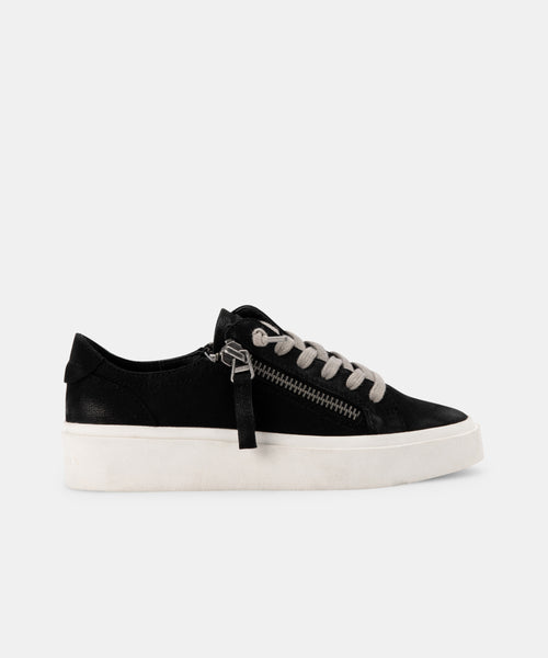 VIRO SNEAKERS IN BLACK NUBUCK -   Dolce Vita