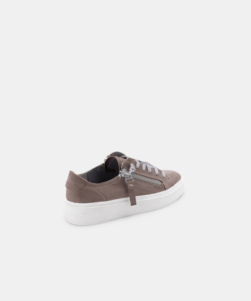 VIRO SNEAKERS IN GREY NUBUCK -   Dolce Vita