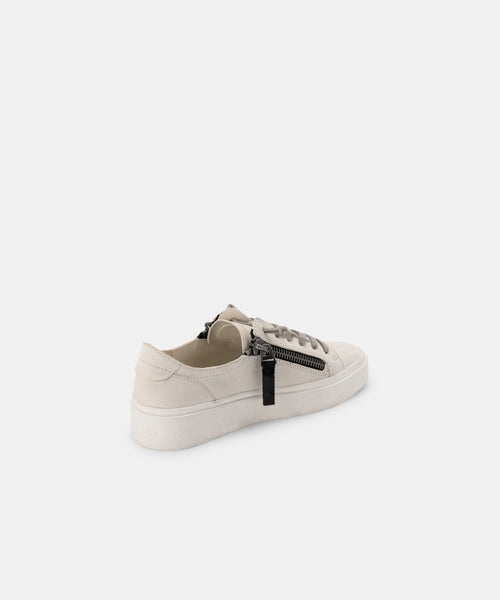 VIRO SNEAKERS IN OFF WHITE NUBUCK -   Dolce Vita