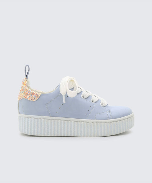 WREN SNEAKERS LIGHT BLUE -   Dolce Vita