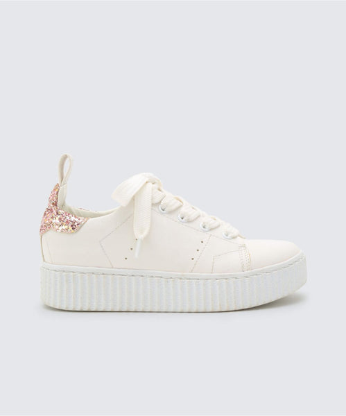 WREN SNEAKERS IN WHITE -   Dolce Vita