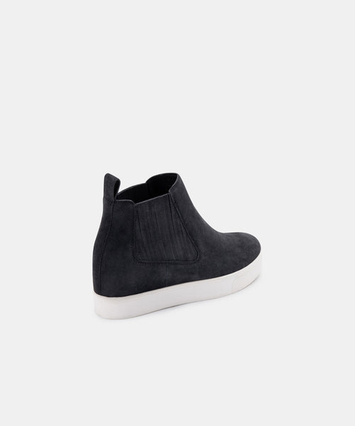 WYND SNEAKERS ANTHRACITE SUEDE -   Dolce Vita