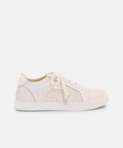 ZAGA SNEAKERS IN OFF WHITE -   Dolce Vita