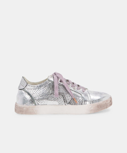 ZAGA SNEAKERS IN PLATINUM -   Dolce Vita