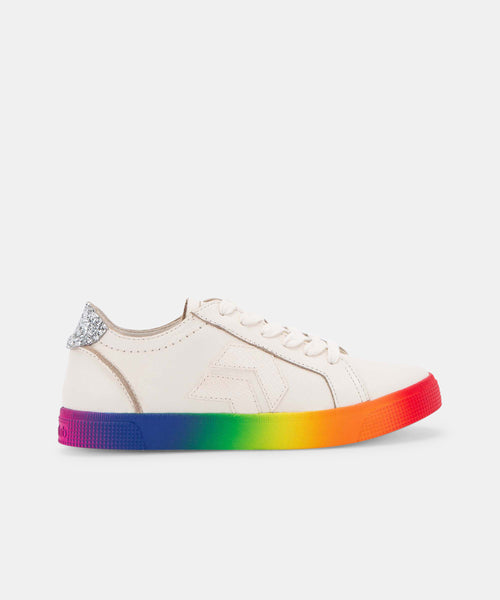 ZAGA SNEAKERS IN RAINBOW LEATHER -   Dolce Vita