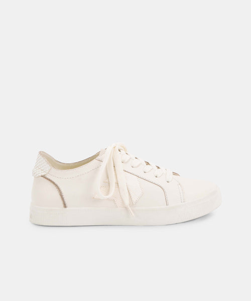 ZAGA SNEAKERS IN WHITE -   Dolce Vita