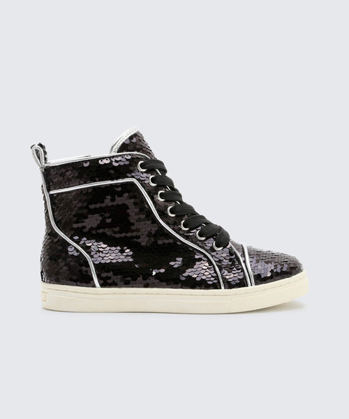 ZEMA SNEAKERS IN BLACK -   Dolce Vita