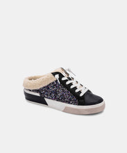 ZETA PLUSH SNEAKERS IN BLACK GLITTER -   Dolce Vita