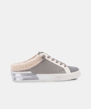 ZETA PLUSH SNEAKERS IN GREY STUDDED NUBUCK -   Dolce Vita