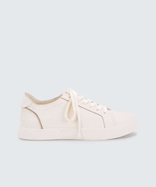 ZIA SNEAKERS IN WHITE -   Dolce Vita
