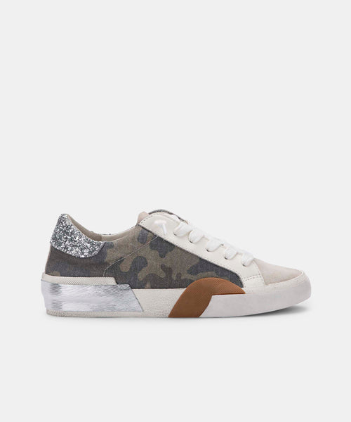 ZINA SNEAKERS IN CAMO CANVAS -   Dolce Vita