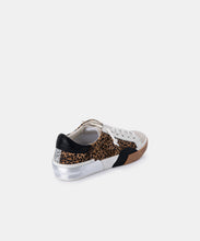ZINA SNEAKERS IN TAN/BLACK DUSTED LEOPARD SUEDE -   Dolce Vita