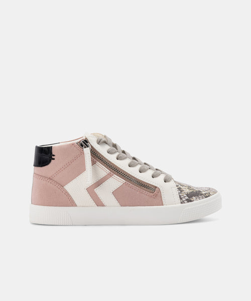 ZOLIE SNEAKERS BLUSH MULTI CANVAS -   Dolce Vita