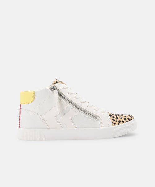 ZOLIE SNEAKERS WHITE MULTI CANVAS -   Dolce Vita