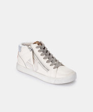 ZONYA SNEAKERS IN WHITE MULTI PLUSH -   Dolce Vita