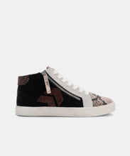 ZONYA SNEAKERS IN BLACK MULTI SNAKE -   Dolce Vita