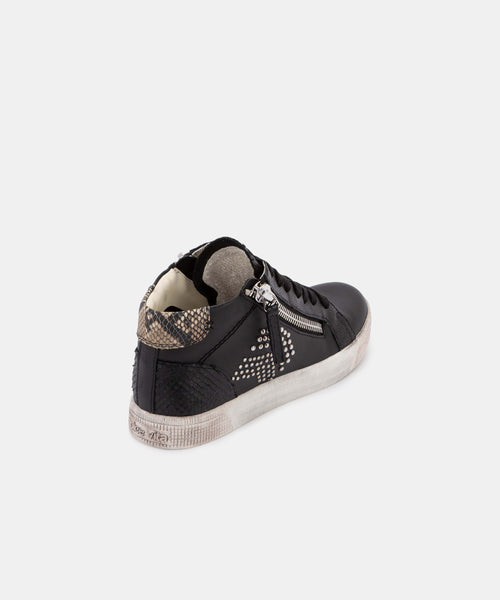 ZONYA SNEAKERS IN BLACK -   Dolce Vita