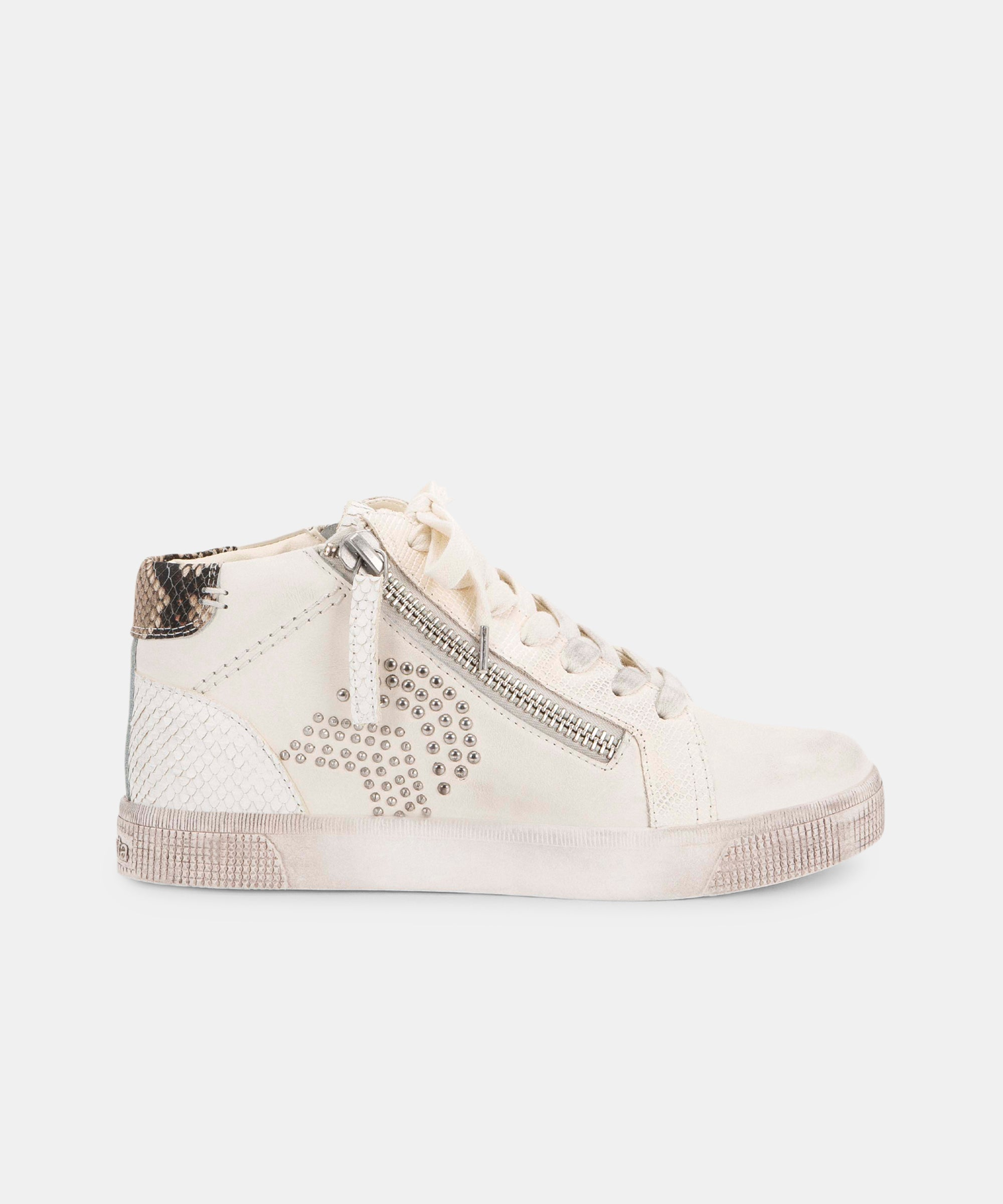ZONYA SNEAKERS IN WHITE
