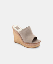 BONNY WEDGES IN ALMOND SUEDE -   Dolce Vita