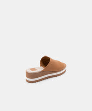 FRETA WEDGES IN TAN LEATHER -   Dolce Vita