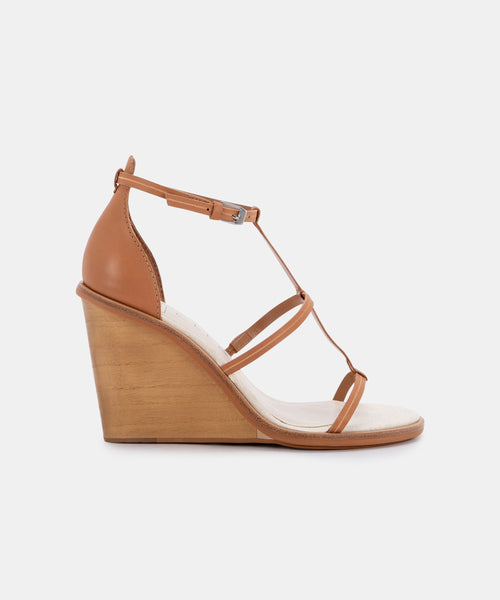 JEANA WEDGES IN MOCHA ECO LEATHER -   Dolce Vita