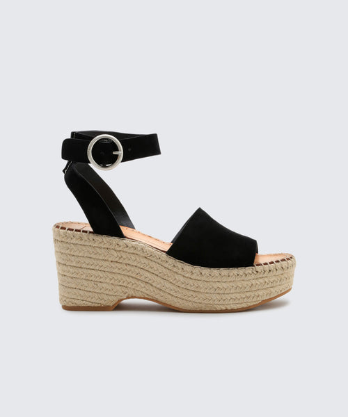 LESLY WEDGES ONYX -   Dolce Vita
