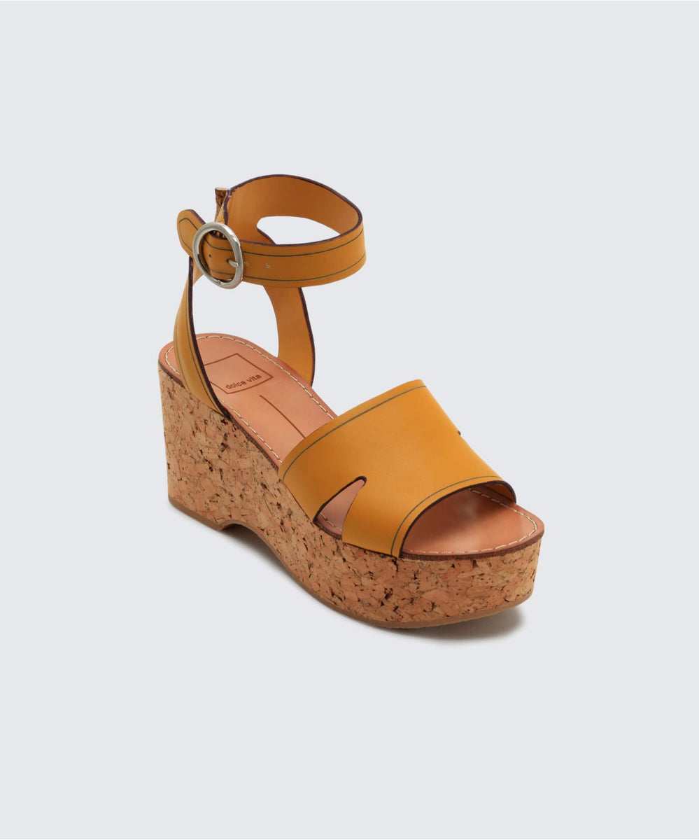d88d2acce05f LINDA WEDGES HONEY – Dolce Vita